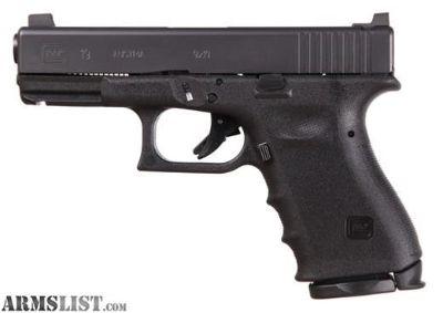For Sale: Vickers Glock 19 Black RTF2 frame