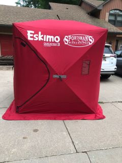 Eskimo QuickFish3 Sportsman s Warehouse Ice Fishing Shanty