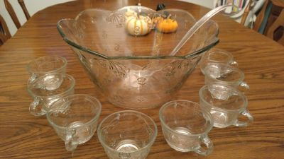 Toscany Savannah Punch Bowl Set