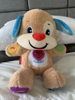 Fisher-Price laugh and play puppy