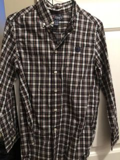 Very nice Chaps long-sleeved shirt - size large (14/16)