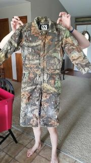 Walls Youth Camo Coveralls Size 6