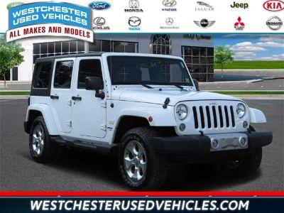 2015 Jeep Wrangler Unlimited Sahara (Wh)