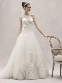 Wedding Dress Size 16 *UNWORN/UNALTERED* Oleg Cassini