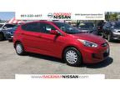 Used Hyundai Accent 2017 Pulse Red, 50.8K miles