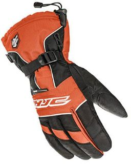 Find HJC 15 Men's Storm Orange/Black Waterproof Insulated Snowmobile Riding Glove motorcycle in Golden, Colorado, United States, for US $44.99