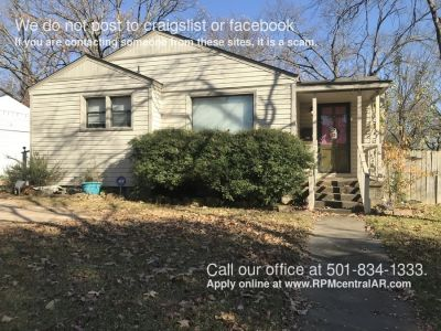 104 Belmont Dr., North Little Rock AR 72116 - Historic Park Hill 3br 2ba home with 1400sq ft.