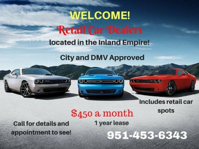 Retail Car Dealer Space - Inland Empire