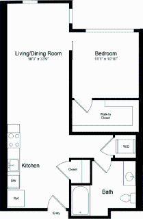 1 bedroom in Potrero Hill