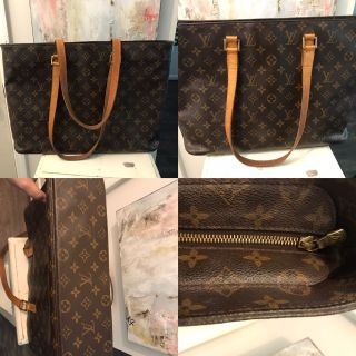 Well-loved Louis Vuitton Lucy Tote