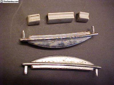 1964 Squareback white dash lever knobs