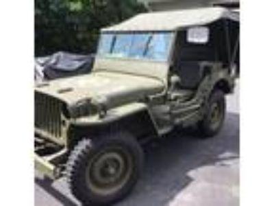 1943 Jeep Willys MB WW2