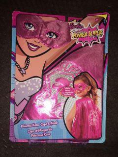 Barbie cape and mask