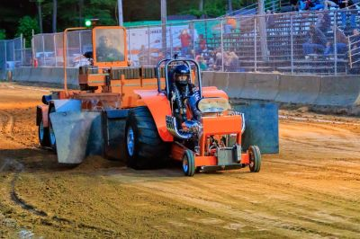 Complete Rolling Chassis ~ Mini-Modified Pulling Tractor