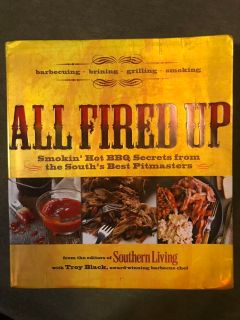 Southern Living All Fired Up BBQ cookbook