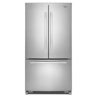 Whirlpool Stainless Steel French Door Refrigerator WRF532SMBM