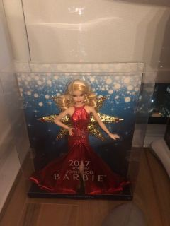 3DR Barbie 2017 Holiday Doll, Blonde Hair