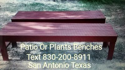Patio Or Plants Bench