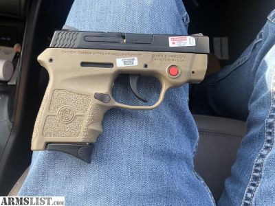 For Sale/Trade: Smith & Wesson Bodyguard .380 FDE w/ Crimson Trace