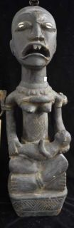 "25"" Tall African Wooden Statue, The best one in this"