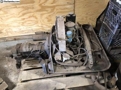 *4096139 912 engine transmission set 1969