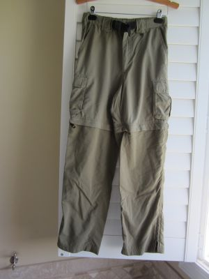 Boy Scouts of America BSA Convertible Switchback Uniform Pants Youth Large Green