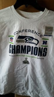 SEAHAWKS 2013 CONFERENCE CHAMPIONS Youth T-Shirts (3 sizes) ** NEW **