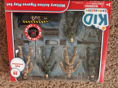 Military action figures play set