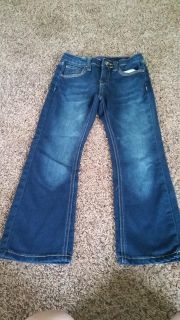 Lee Jeans, size 6 skinny boot cut with adjustable waist