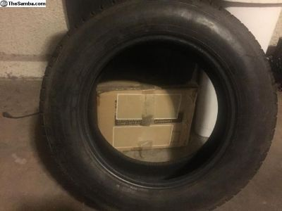 Pirelli Tire 165SR15 Rayon Tire.