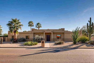 6557 E SWEETWATER Avenue Scottsdale Four BR, Resort like home on