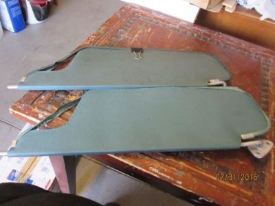 Find 1966-67 Dodge Coronet Original Sun Visors - BLUE motorcycle in Mesquite, Nevada, United States, for US $19.95