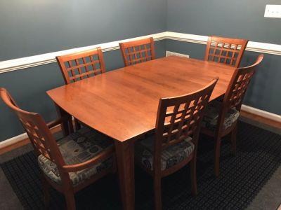 10-Piece Transitional Dining Set