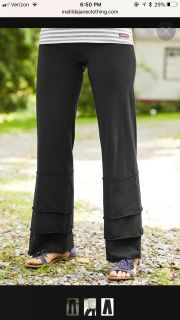 Ladies Matilda Jane Black pants