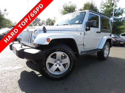 2012 Jeep Wrangler Sahara (Bright Silver Metallic)
