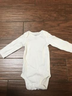 Child of mine made by Carter s 6 12 months new longsleeve onesie