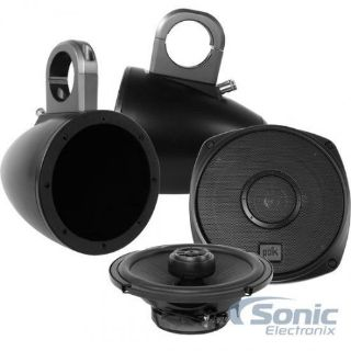 """Find Polk Audio DXi651 120W RMS 6.5"""" Coaxial Marine Rated Speakers w/Tower Enclosures motorcycle in Louisville, Kentucky, United States, for US $229.99"""