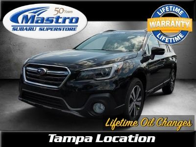 2018 Subaru Outback 2.5i Limited with EyeSight, Na (Crystal Black Silica)