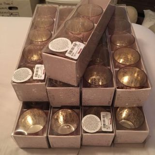 43 Rose Gold Votive Candle Holders