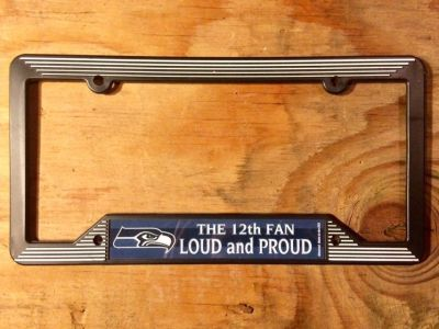 Plate cover Seahawks
