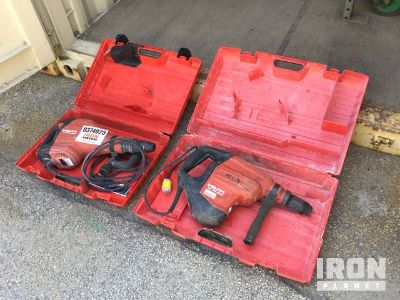 Lot of (1) Rotary Hammer Drill & (1) Demolition Hammer