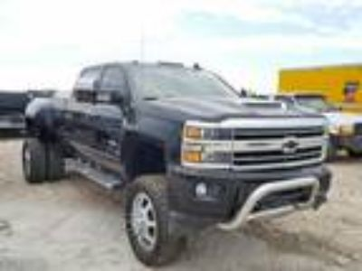Salvage 2018 CHEVROLET SILVERADO HIGH COUNTRY for Sale