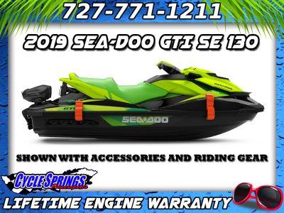 2019 Sea-Doo GTI 130 SE iBR PWC 3 Seater Clearwater, FL