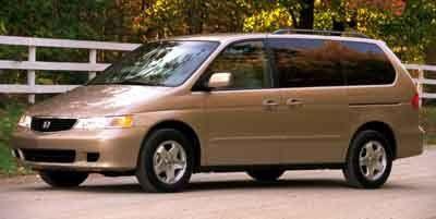 2001 Honda Odyssey EX (Silver/Grey)