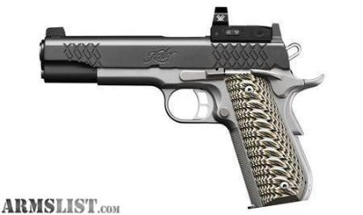For Sale: Kimber Aegis Elite Custom Optics Ready Black 9mm 5-inch 8 Rds. no taxes, no credit card fees, free shipping