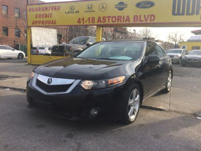 2010 Acura TSX Base w/Tech (Crystal Black Pearl)