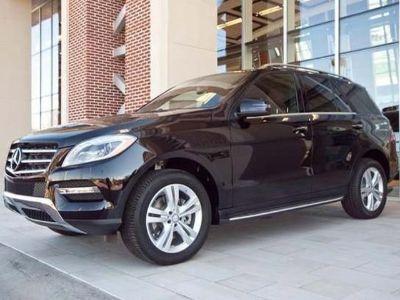 2013 Mercedes-Benz M-Class ML350 BlueTEC 4MATIC (Black)