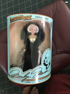 Fur Fantasy Marilyn Monroe Doll