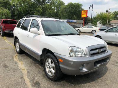 2005 Hyundai Santa Fe GLS (White)