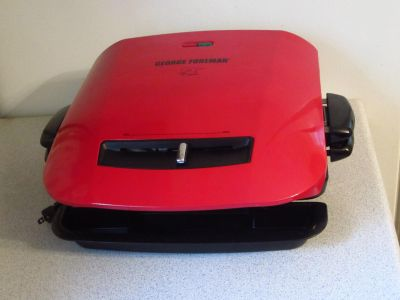 George Foreman Red Electric Grill